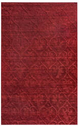 Rizzy Technique Tc-8268 Burgundy Area Rug