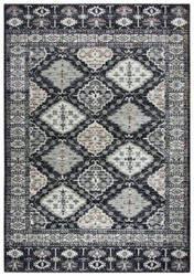 Rizzy Zenith Zh7077 Black Area Rug