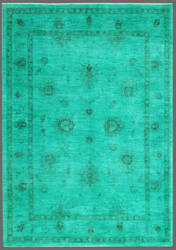 Rugstudio Overdyed 449414-616 Green Area Rug