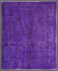 Rugstudio Overdyed 449446-616 Purple Area Rug