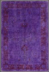 Rugstudio Overdyed 449462-616 Purple Area Rug
