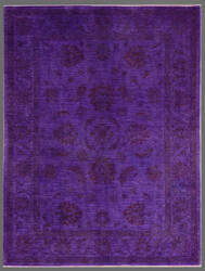 Rugstudio Overdyed 451787-616 Purple Area Rug
