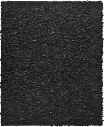 Safavieh Leather Shag Lsg511a Black Area Rug