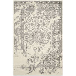 Safavieh Adirondack Adr101b Ivory / Silver Area Rug