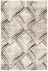 Safavieh Amsterdam Ams112a Cream - Charcoal Area Rug