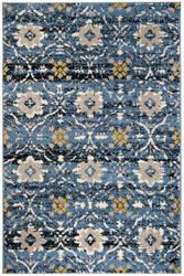 Safavieh Amsterdam Ams113m Blue - Creme Area Rug