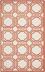 Safavieh Amherst Amt411f Ivory / Orange Area Rug