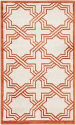 Safavieh Amherst Amt413f Ivory - Orange Area Rug