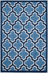Safavieh Amherst Amt420q Light Blue - Navy Area Rug