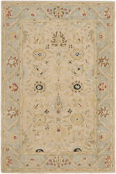 Safavieh Anatolia An569c Natural / Soft Turquoise Area Rug