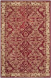 Safavieh Anatolia An583b Red / Ivory Area Rug