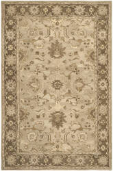 Safavieh Anatolia An585h Light Grey / Dark Brown Area Rug