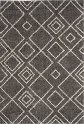 Safavieh Arizona Shag Asg744b Brown - Ivory Area Rug