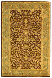 Safavieh Antiquities AT14F Brown / Green Area Rug