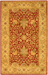 Safavieh Antiquities AT249C Rust / Gold Area Rug