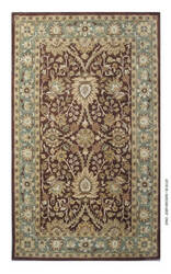 Safavieh Antiquities AT249D Chocolate / Blue Area Rug