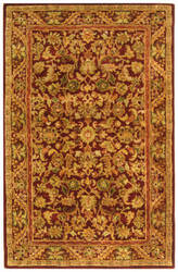 Safavieh Antiquities AT52B Wine / Gold Area Rug