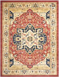 Safavieh Austin AUS1590-4011 Red / Creme Area Rug