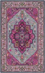 Safavieh Bellagio Blg541b Grey - Pink Area Rug