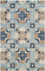 Safavieh Blossom Blm403b Blue - Multi Area Rug