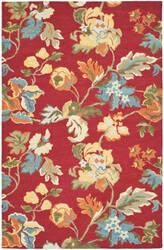 Safavieh Blossom Blm672a Red / Multi Area Rug