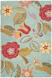 Safavieh Blossom Blm675a Blue / Multi Area Rug