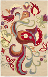 Safavieh Blossom Blm680a Beige / Multi Area Rug