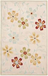 Safavieh Blossom Blm784c Beige / Multi Area Rug