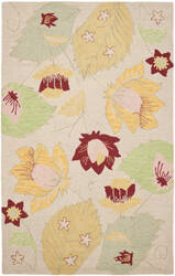 Safavieh Blossom Blm786a Ivory / Multi Area Rug