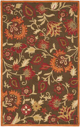 Safavieh Blossom Blm861a Brown / Multi Area Rug