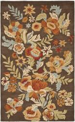 Safavieh Blossom Blm915a Brown / Multi Area Rug