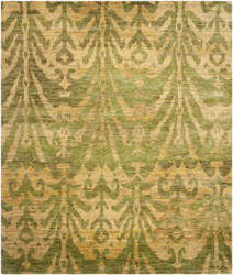 Safavieh Bohemian Boh631a Green / Gold Area Rug