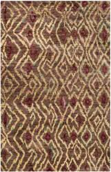 Safavieh Bohemian Boh637a Brown / Gold Area Rug