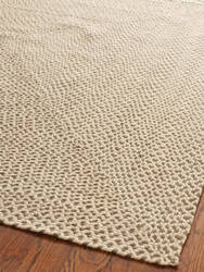 Safavieh Braided Brd173a Beige / Brown Area Rug