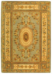 Rugstudio Sample Sale 46323R Light Blue / Ivory Area Rug