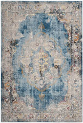 Safavieh Bristol Btl343c Blue - Light Grey Area Rug