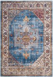 Safavieh Bristol Btl349c Blue - Ivory Area Rug