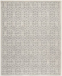 Safavieh Cambridge Cam123d Silver / Ivory Area Rug