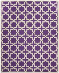 Safavieh Cambridge CAM125K Purple / Ivory Area Rug