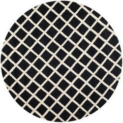 Safavieh Cambridge Cam135e Black / Ivory Area Rug