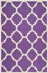 Safavieh Cambridge Cam140k Purple / Ivory Area Rug