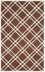 Safavieh Cambridge Cam142h Dark Brown - Ivory Area Rug