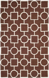 Safavieh Cambridge Cam143h Dark Brown - Ivory Area Rug