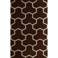 Safavieh Cambridge CAM146H Dark Brown / Ivory Area Rug