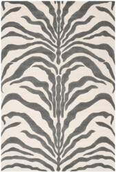 Safavieh Cambridge Cam709a Ivory - Dark Grey Area Rug