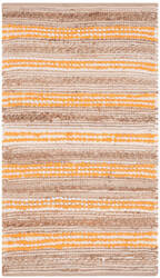 Safavieh Cape Cod Cap862l Natural - Orange Area Rug