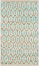 Safavieh Cape Cod Cap864j Natural - Turquoise Area Rug
