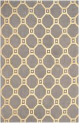 Safavieh Cedar Brook Cdr269q Grey - Gold Area Rug