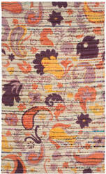 Safavieh Cedar Brook Cdr321d Orange - Multi Area Rug
