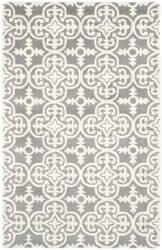 Safavieh Chatham Cht729d Dark Grey / Ivory Area Rug